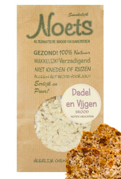 Noets Dadel Vijgen broodmix 500 Gram